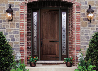 Pella home entry door