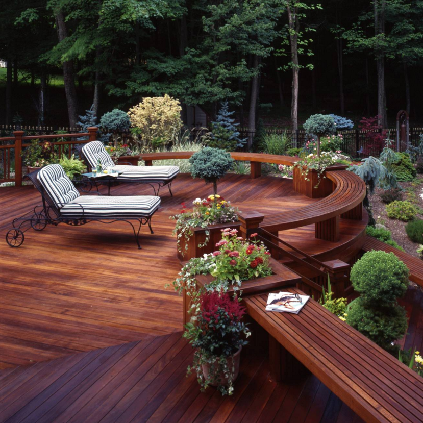 What should you do: deck or patio? Things to consider when ... on Houzz Backyard Patios id=48132