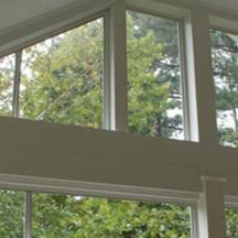 Fixed custom windows for eze-breeze sun room enclosures