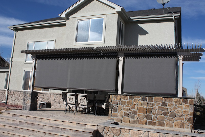Louvered Roof Screens