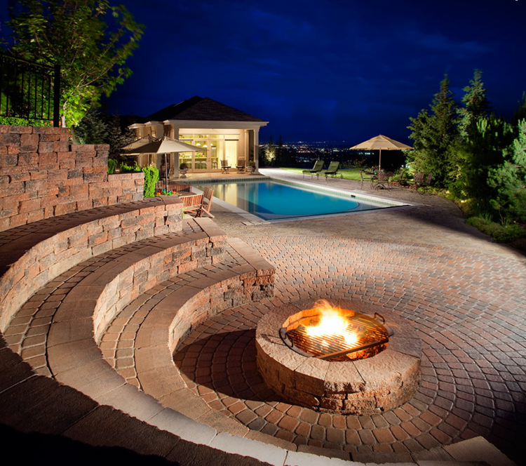 Outdoor Fireplace & Fire-pits | Buresh Home Solutions on Outdoor Fireplace Pit id=70696