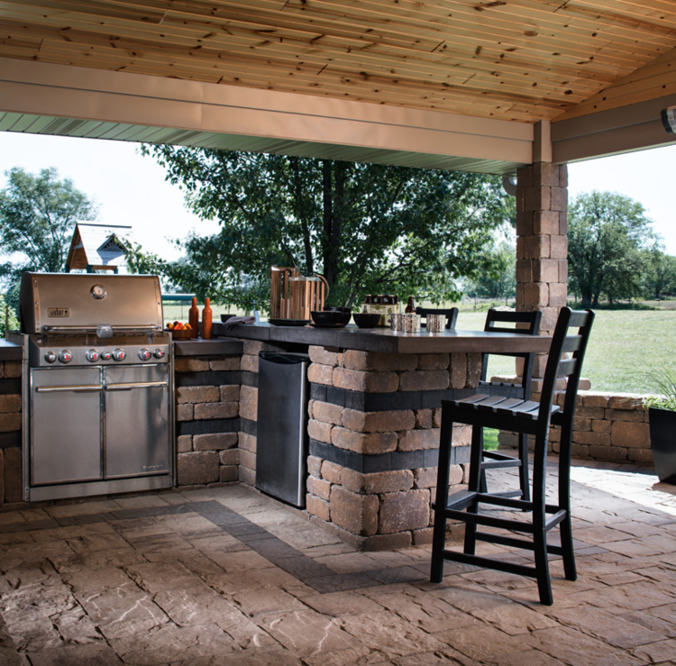 Looking For Outdoor Kitchen Inspiration: Buresh Home Solutions