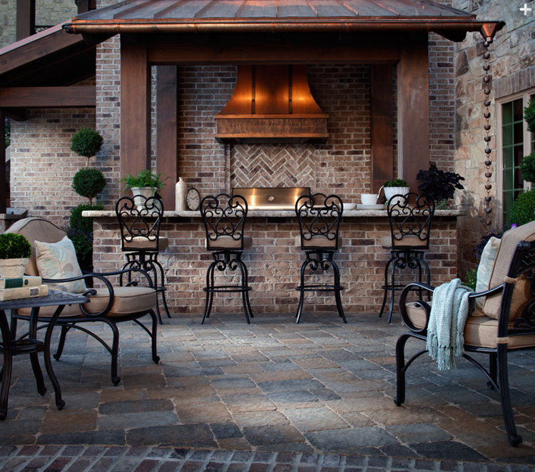 Outdoor Stone Kitchens and Brick Ovens | Buresh Home Solutions