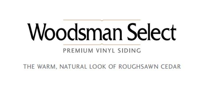 Woodsman Select Vinyl Siding