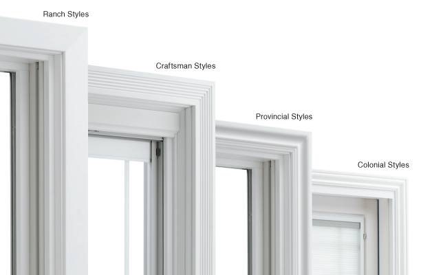 Pre-finished Window Trim for Pella Windows
