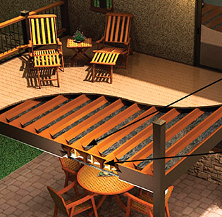 Trex Rainescapes Underdecking Buresh Home Solutions